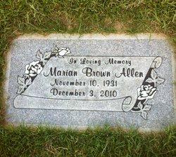 Marian <i>Brown</i> Allen