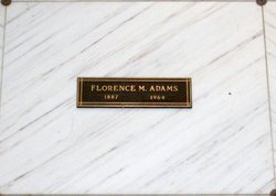 Florence Marie <i>Daggett</i> Adams