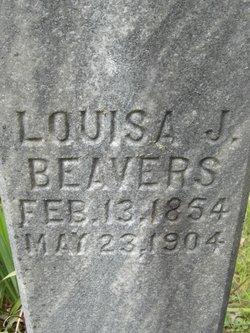 Louisa J. <i>Barker</i> Beavers