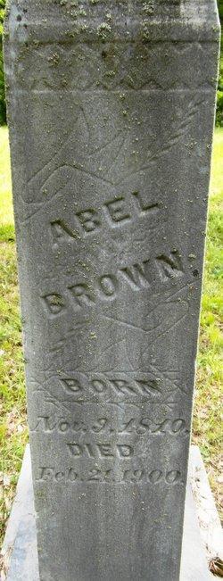 Abel Brown
