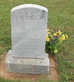 Frances Marion Allred