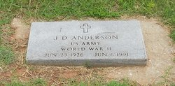 J. D. Anderson