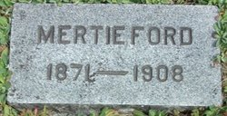 Mertie <i>Smith</i> Ford
