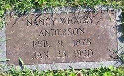 Nancy Elizabeth <i>Whaley</i> Anderson