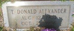 Thomas Donald Alexander