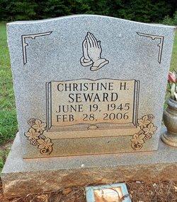 Christine Elizabeth <i>Heaggins</i> Seward
