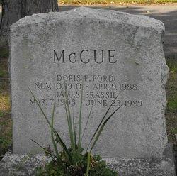Doris E <i>Ford</i> McCue