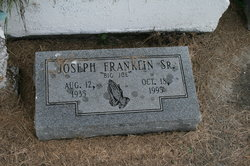 Joseph Big Joe Franklin, Sr