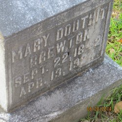 Mary J <i>Douthit</i> Brewton