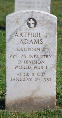Arthur Joseph Adams