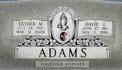 Esther <i>Massengill</i> Adams