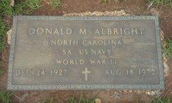 Donald M. Albright