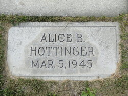 Alice <i>Bradley</i> Hottinger