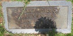Barney Sibley Alexander