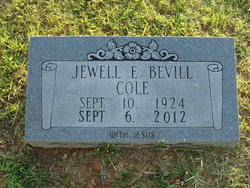 Emma Jewell <i>Bevill</i> Cole