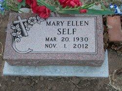 Mary Ellen <i>Grant</i> Self