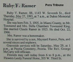 Ruby <i>Townsend</i> Ramer