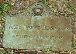 Willie Upshaw Blasingame