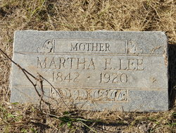 Martha E <i>Turner</i> Lee
