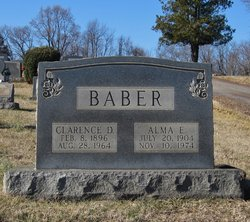 Clarence D Baber
