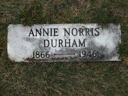 Annie <i>Norris</i> Durham