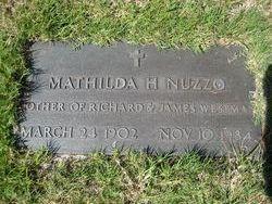 Mathilda Helen Muzzy <i>Fisher</i> Westman Nuzzo