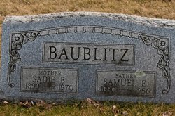 Carrie Naomi <i>Stover</i> Baublitz