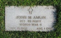 John M Amlin