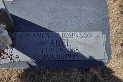 Nancy I Abel, Johnson