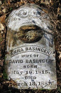 Anna <i>Boyers</i> Basinger