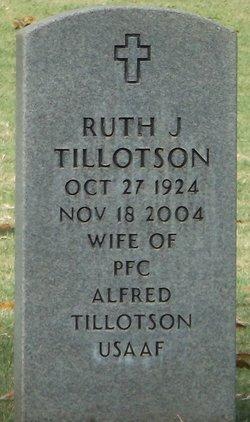 Ruth J Tillotson