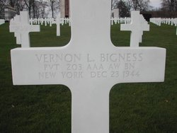 Pvt Vernon Lawrence Bigness