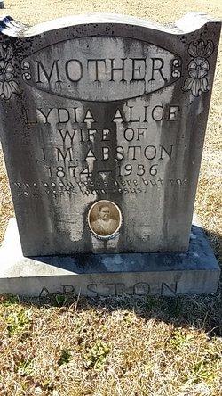 Lydia Alice <i>Moses</i> Abston