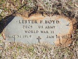 Lester F. Boyd