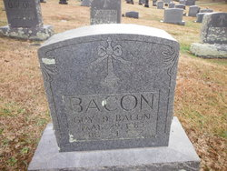 Guy D Bacon, Sr