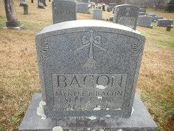 Myrtle B <i>Boyd</i> Bacon