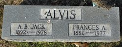 Frances A. <i>Shepherd</i> Alvis