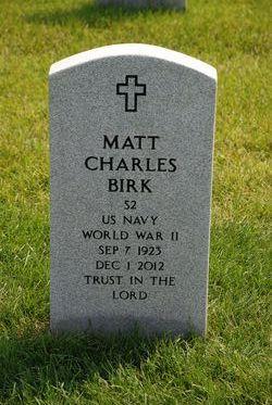 Matthius Charles Matt Birk, Sr