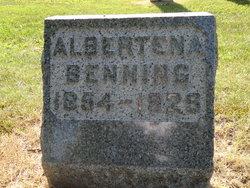 Albertena Tena <i>Gast</i> Benning