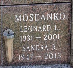 Sandra Rae <i>Eronson</i> Moseanko