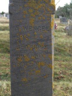 Beatrice E <i>Smith</i> Noyes Wengel