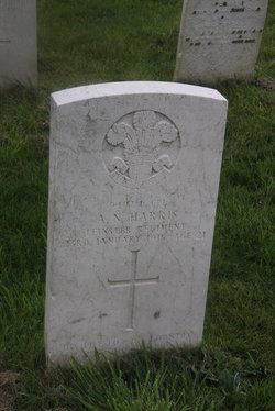 Lance Corporal Albert Nickolas Harris
