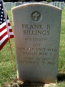 Frank R Billings