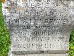 Abbie M. <i>Bennett</i> Quinlan