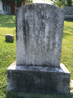 Elizabeth <i>Sommerville</i> Clay