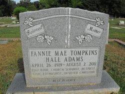 Mrs Fannie Mae <i>Tompkins</i> Adams