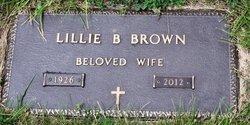 Lillie Belle <i>Burks</i> Brown