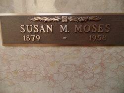 Susan M <i>Cobb</i> Moses