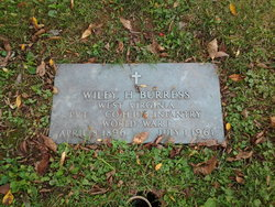 Wiley Hicks Burress, Sr