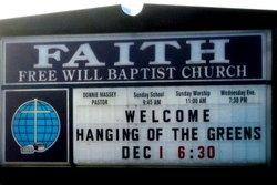 Faith Free Will Baptist Church Cemetery